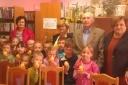 Odwiedziny uczniów ze Szkoły Podstawowej im. Jana Pawła II w Sokołowie Włościańskim